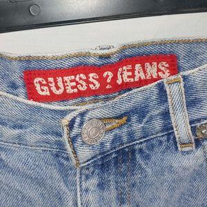 Vintage 90's Guess Jean Shorts